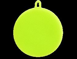 SILIKÓNOVÁ hubka na umývanie riadu zelená
