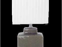 CUBE lampa šedá