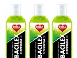 BACILEX dezinfekčný gél na ruky zelený sada