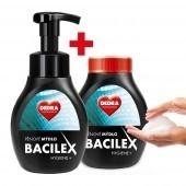BACILEX Hygiene+ pena na umývanie rúk a tela sada
