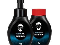 PLATINUM FUTURE MEN pena na umývanie rúk a tela sada