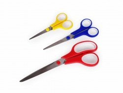 SUPERNOŽNIČKY súprava 3 ks nožničiek s protišmykovým držadlom
