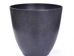 OBAL na kvetináč tmavo - šedý granit