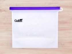 GOECO silikónové vrecúško na potraviny fialové