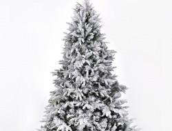 SMREK zasnežený vianočný stromček výška 150 cm