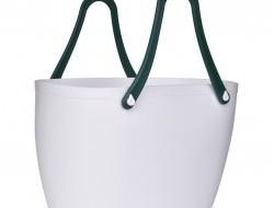 Veľká štýlová plastová taška so silikónovými ušami