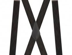 Traky do X s uchytením na kovové klipy 5 cm široké traky
