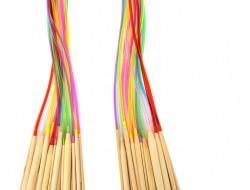 GoEco® Sada kruhových bambusových ihlíc 18 ks