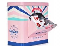 AQUATIX® Tablety do umývačky  + kovová ružová RETRO dóza ZADARMO