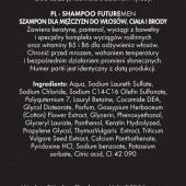 FUTURE MEN šampón na vlasy pre mužov