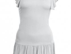 TAINY krátke šaty šedé