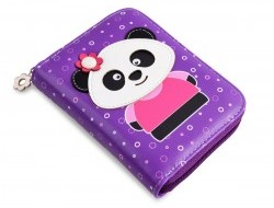 KIKISTAR peňaženka fialová