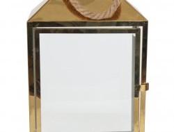 NEREZOVÝ svietnik zlatý výška 44 cm