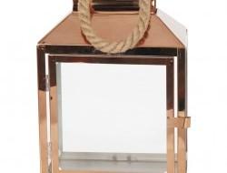 NEREZOVÝ svietnik medený výška 30 cm