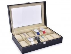 KAZETA na ukladanie hodiniek s 12 priehradkami