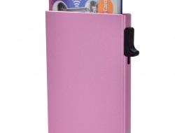 FC SAFE ochranné púzdro na platobné karty ružové