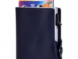 FC SAFE peňaženka na ochranu platobných kariet modro - sivá