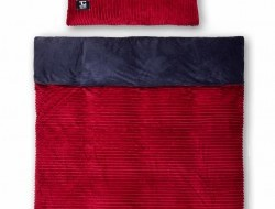 ROYAL LAGOON VELVET Obojstranná 2 dielna posteľná súprava bordová