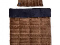 ROYAL LAGOON VELVET Obojstranná 2 dielna posteľná súprava zemitá hnedá
