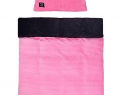 ROYAL LAGOON VELVET Obojstranná 2 dielna posteľná súprava svetlo ružová