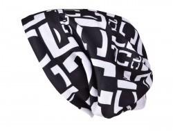FC čierna hrejivá čiapka s podšívkou REBELITO