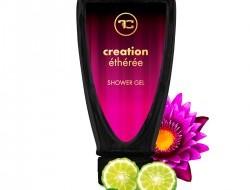 Penivý sprchový gél CREATION Etherea s broskyňovým olejom