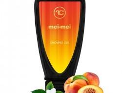Penivý sprchový gél MEI-MEI s broskyňovým olejom