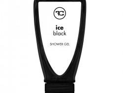 Penivý sprchový gél ICE BLACK s broskyňovým olejom