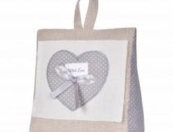 WITH LOVE textilná zarážka do dverí