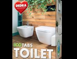 EKO samočistiace tablety do WC odpadu ECOTABS TOILET 10 tabliet