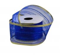 DEKORAČNÁ stuha námornícka modrá