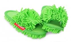 SAMOCHODKY upratovacie papuče zelené veľkosť 36 - 40