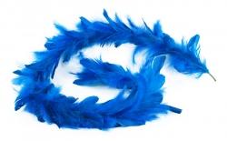 GIRLANDA z modrých pierok