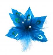 KVET s pierkami modrý