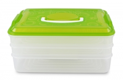 XXL TRIOBOX na potraviny zelený