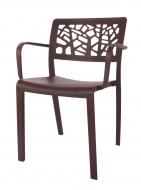 LORIEN stolička čokoládová