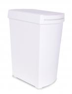 TOUCH & OPEN odpadkový kôš biely