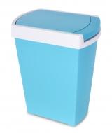 TOUCH & OPEN odpadkový kôš modrý