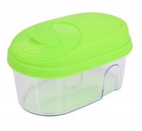 BOX na potraviny s vekom 500 ml zelený
