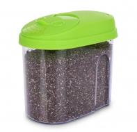 BOX na potraviny s farebným vekom zelená