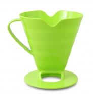 DRŽIAK na filtrovanie kávy alebo čaju zelený