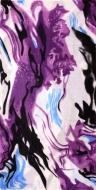 MULTIFUNKČNÁ šatka lila abstrakt