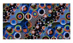 MULTIFUNKČNÁ šatka s motívom farebných kruhov