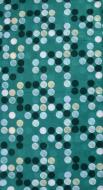 MULTIFUNKČNÁ šatka zelená s bodkami