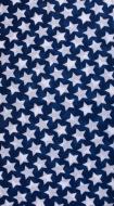 MULTIFUNKČNÁ šatka modrá s hviezdami