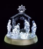LED svietiaci betlehem