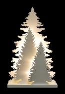 TRI STROMČEKY s LED osvetlením