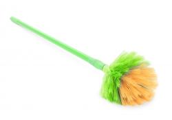 TELESKOPICKÝ vymetač pavučín zelený