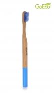 GOECO bamboo zubná kefka modrá
