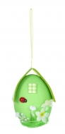DOMČEK veľkonočné vajíčko zelené